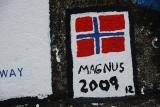 Magnus har egen hilsen!