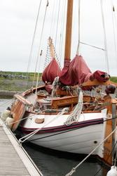 Klassisk nederlandsk båt