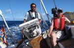 Fin seglvind mellom St.Lucia og St.Vincent