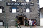Oban sitt destilleri ligg midt i sentrum.